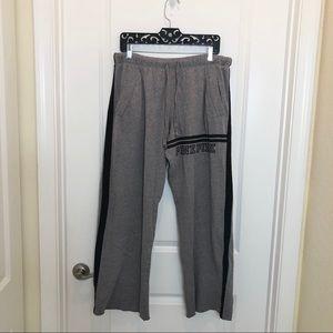 PINK Victoria's Secret Gray Drawstring Sweatpants